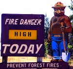 fire-danger-high-sign