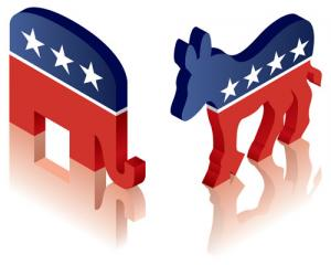 republican and  democrat 300